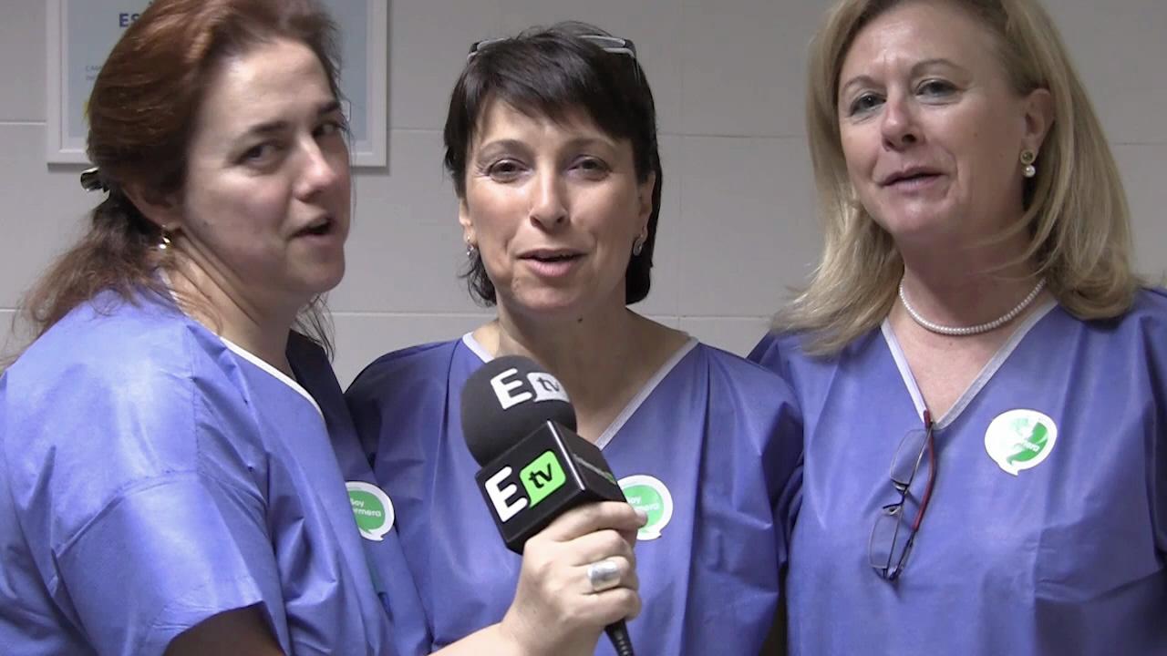 Tres enfermeras de UCI del Hospital Perpetuo Socorro, Badajoz