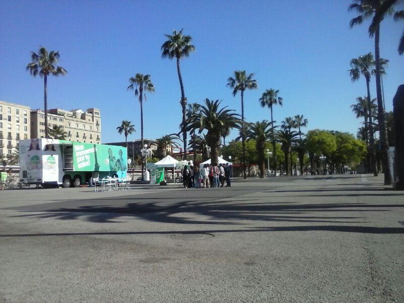 Feria de los cuidados en badajoz y barcelona soy enfermera for Ferias barcelona hoy