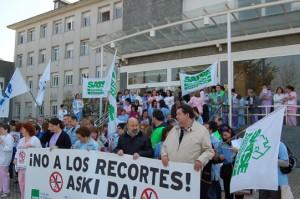 Concentracion en el Hospital Donostia (15 de marzo de 2012)