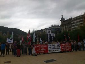 En las calles de Donostia (12 de septiembre de 2012)