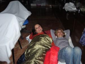 Encierro de 24 horas en el Hospital General de Alicante (12 de marzo de 2012)
