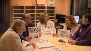 Encierro en el Hospital General de Valencia (22 de febrero de 2012)