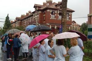 Hospital de Basurto en Bilbao (12 de septiembre de 2012)