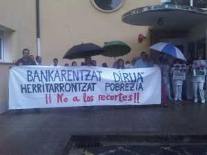 Hospital de Santa Marina en Bizkaia (12 de septiembre de 2012)