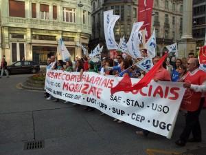 Manifestaciones en Lugo (19 de julio de 2012)