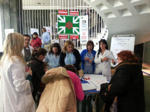 Punto de Encuentro contra los recortes en el Hospital de Cruces (13 de marzo de 2013)