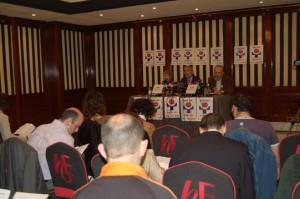 Rueda de prensa de SATSE Euskadi Basta ya- Aski da (25 de febrero de 2011)