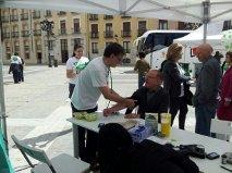 El arzobispo de Palencia visita #xtusalud