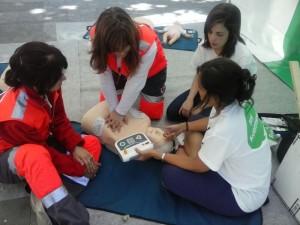 Enfermeros y socorristas de la Cruz Roja comparten conocimientos en #xtusalud #Lleida