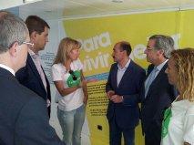 Las autoridades de Burgos visitan #xtusalud