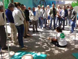 La Feria de los Cuidados en Ourense
