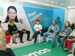 Taller de primeros auxilios para mayores del Centro Social Cristina Pinedo y Mora Claros en #xtusalud #Huelva