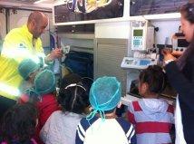 Visita a una ambulancia en #xtusalud en #Cuenca