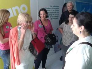 Visita de la concejala de Bienestar Social a #xtusalud